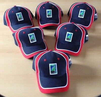 IRB ENGLAND Rugby World Cup 2003 Official Cap Hat New With Tags One Size