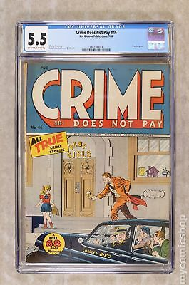 Crime Does Not Pay (1942) #46 CGC 5.5 1402780014