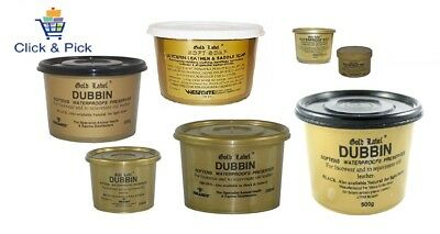 Gold Label Waterproof Wax, Dubbin Black Natural & Brown, Saddle Soap, Hide Food