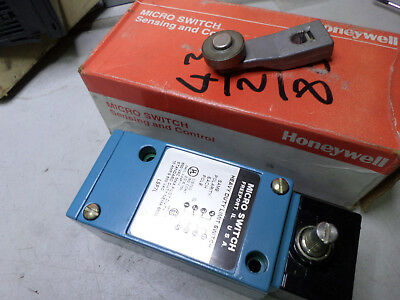 Honeywell Heavy Duty Limit Switch - Metal Bodied -- Lsp7L