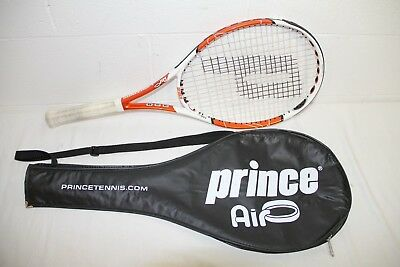 "Prince Air Lightning Tennis Racquet 100 sq Inch, 27"" long, w/ Case/Bag, NICE!!"