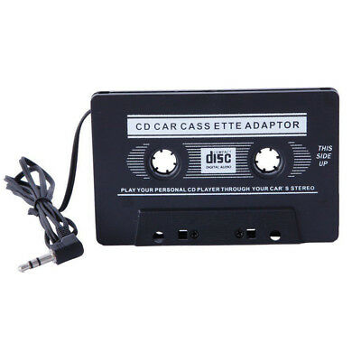 New 3.5mm AUX Car Audio Cassette Tape Adapter Transmitters for MP3 IPod CD Phone