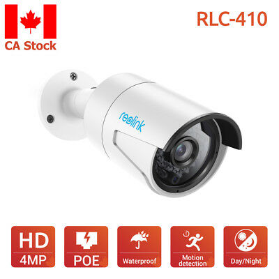 Reolink RLC-410 IP Camera PoE 4MP HD Outdoor Infrared Night Vision Home Security