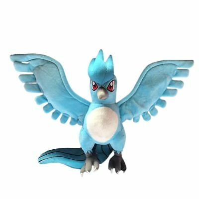 Pokemon Center 9 inch Articuno Anime Stuffed Plush Doll Soft Toy Xmas Gift