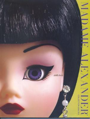 2002 Madame Alexander Catalog Doll Reference 158 Color pages Cissy Hannah New