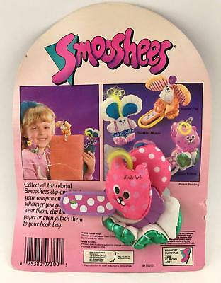 Smooshees Dottie Kitten Smugglers Clip-ons you Wear Fisher Price 1988 Cat New