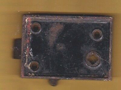 Antique Mortise Door Lock Black. From our 1849 farm home.