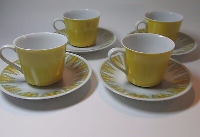 "Vintage Retro 1960s RC Japan-Vera 4354 ""-Coffee Cup Set Japan Mid Century Modern"