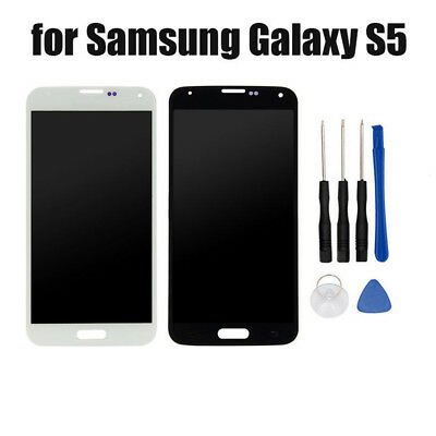 USA LCD Display Touch Screen Digitizer Assembly For Samsung Galaxy S5 i9600 G900