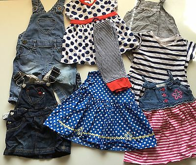 Bundle 39 Baby Girl Clothes 3-6 Month Funky Bright Next Gap Tu Mothercare