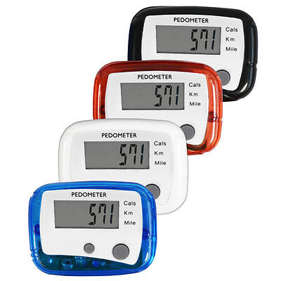 Portable Lcd Pedometer Step Walking Jogging Calorie Counter Distance Fitness