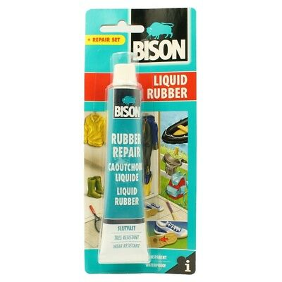 Bison Liquid Rubber Best Plastic and Rubber Glue 50ml Bison Clear Adhesive