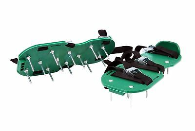 JFM Garden Lawn Aerator Shoes - with 26 spikes to allow your grass to breathe