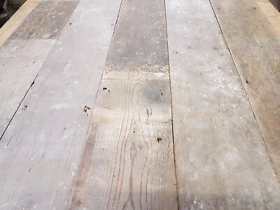 "6 3/4"" Victorian Straight Edge Floor Boarding Planks Pine  Board Flooring"
