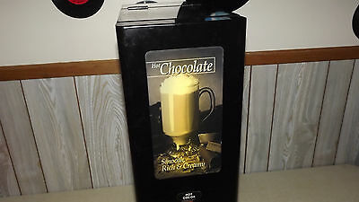 Curtis PC1 HOT CHOCOLATE MACHINE / DISPENSER  Lighted Front  Clean  PICKUP ONLY