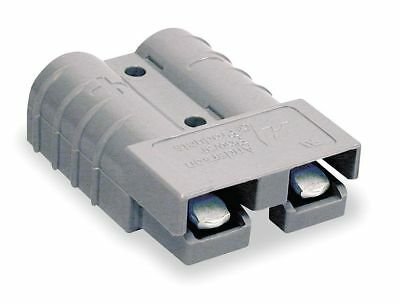 """Anderson Power Products Power Connector, Gray, 6 Wire Size (AWG), 0.221"""" Max."""