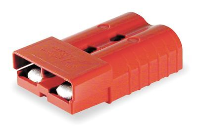 "Anderson Power Products Power Connector, Red, 1/0 Wire Size (AWG), 0.437"" Max."