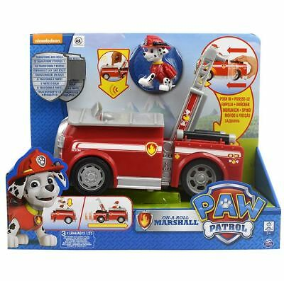 New Paw Patrol Vehicle Assorted On A Roll Nickelodeon Kids Toys Play Collectible