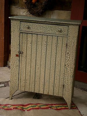 1800's Primitive Jelly Cupboard Painted