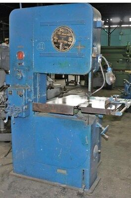 """Doall V-26 Vertical Contour Band Saw 26"""" Throat"""