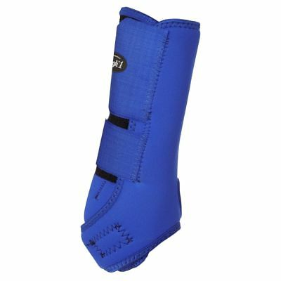 Tough-1 Economy Vented Sport Boots Front Medium Royal Blue
