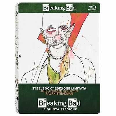 Breaking Bad - Stagione 5 - Limited Edition SteelBook - Cof. 2 Blu Ray - Nuovo