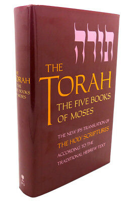 THE TORAH, THE FIVE BOOKS OF MOSES  3rd Printing