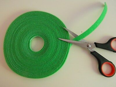 Hook and Loop Cable Tie Roll - 10 Metre Roll - Just Cut To Size - 10mm width