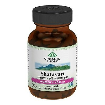 Organic India Shatavari Capsules (60 Cap) For Women's Health
