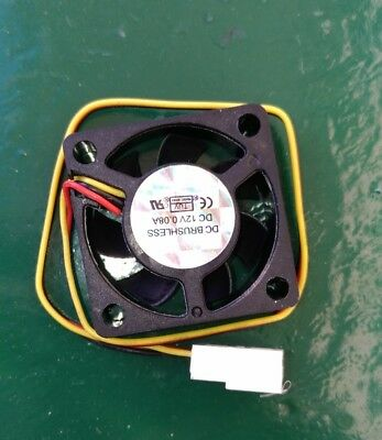 Cooling fan - ventola 30x30x10mm 0.08A 12V - 3D printing - brushless turbine e3d