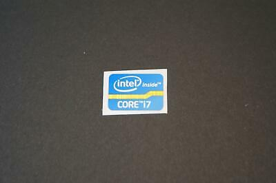 Intel inside CORE i7 Sticker - Aufkleber Blau blue