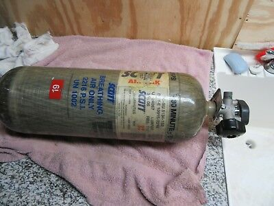 Mfg. 2005 Scott Carbon Air-Pak Cylinder 2216 Psi 30 Minute  Luxfer