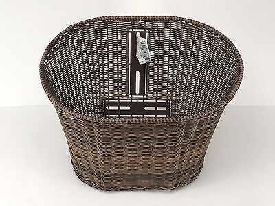 Genuine Buddy Scooter Front Basket, Wicker