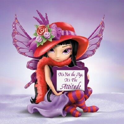 Its Not The Age! Fairy Figurine- Fabulous Hatterific - Jasmine Becket Griffith