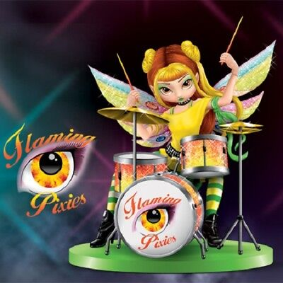 Rosalie Drummer Jasmine & Flaming Pixies Fairy Figurine Jasmine Becket Griffith