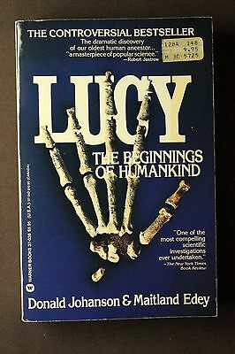 Lucy: The Beginnings of Humankind by Donald Johanson & Maitland Edey (1982)