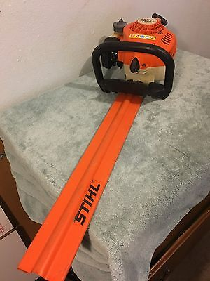 "Stihl HS 45 Hedge Trimmer With 24"" Blade good condition working"