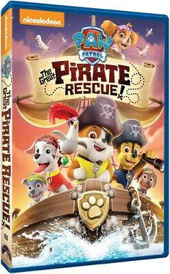Paw Patrol: The Great Pirate Rescue (REGION 1 DVD New)