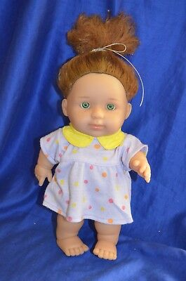 Berenguer Baby Steps - Chubby Red Hair Doll - 24 cm -