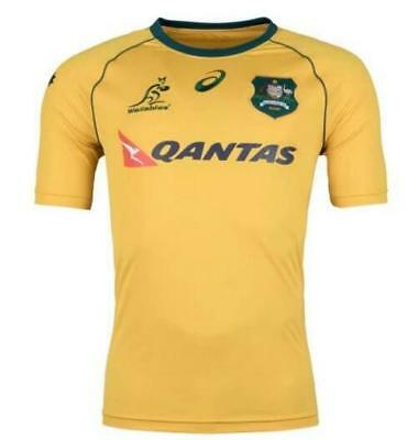 Australia NEW 2017 Wallaby rugby jersey shirts rugby T shirt tee Size: S-3XL