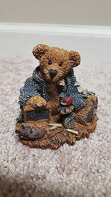 1993 Boyds Bears Special Edition Wilson Perfesser boy teacher bear #2222 EUC