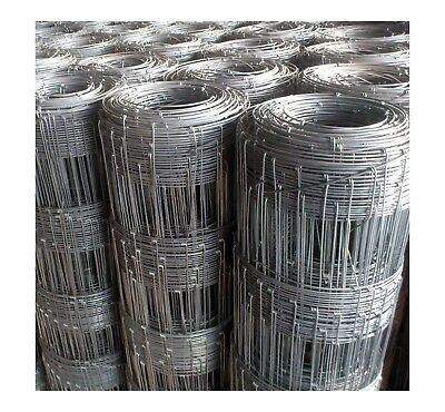 FENCING WIRE HINGE JOINT 7/90/30 100m SHEEP GOAT DOG RURAL FARM GAL MESH