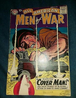 All American Men of War #67 VG Andru Esposito 1st appearance Gunner & Sarge and