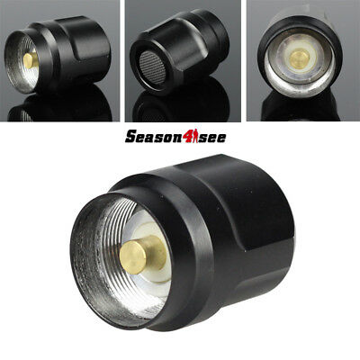 Black Click On/Off  Tailcap Switch for TrustFire C8 UltraFire C8/700L Flashlight