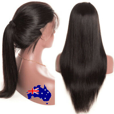 Simulated Hair Full Lace Black Women Wave Glueless Lace Wigs Baby Hair ON