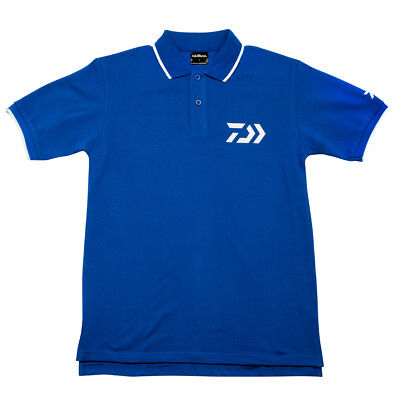 Daiwa Short Sleeve Cotton Polo Shirt