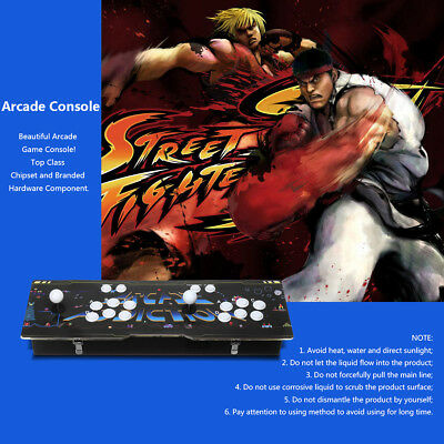 800 Games TV Jamma Arcade Console Double Joystick Button VGA Pandora's Box 4s