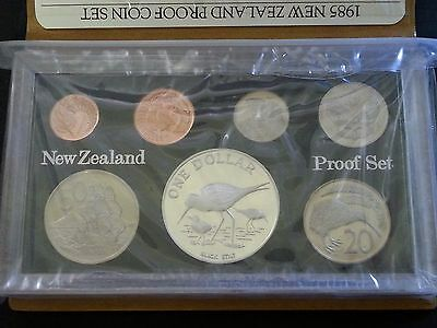 1985 New Zealand Proof Set of Coins
