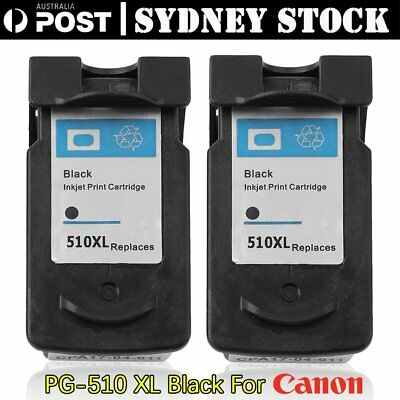 2x PG-510 PG510 ink cartridges for Canon MP230,240,280,282,MP492,495 printers AU