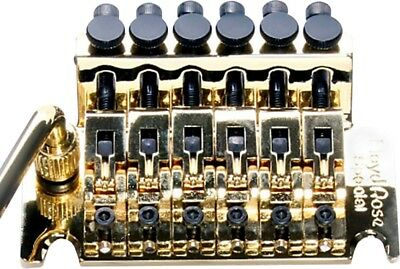 Floyd Rose Special Series Tremolo Bridge with R3 Nut Gold